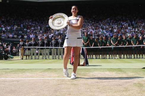 2013 Wimbledon Women's Champion: Marion Bartoli