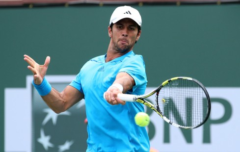 Fernando Verdasco, 11-03-14, Indian Wells